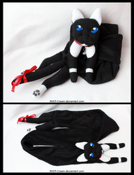 Cat scarf - neko by RHCP-Cream