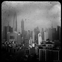 Shanghai Skyline by reydoo