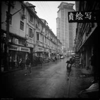 Streets of Shanghai by reydoo