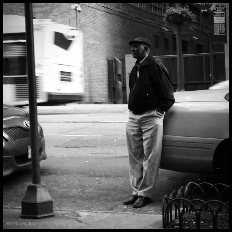Man On The Street by reydoo