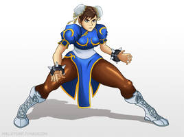 Chun-li by Malleys