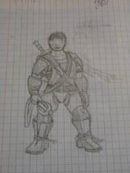 Archar Till'Allan : Sketches by qzvqzdok
