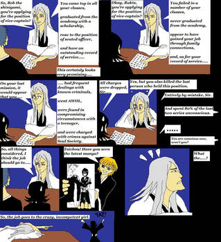 Bleach - Awkward Job Interview by Djedra