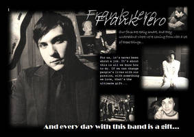 frank iero by maidenofwar