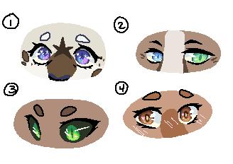Eyes 1 - Practice/Fan Art by ProxyPixel