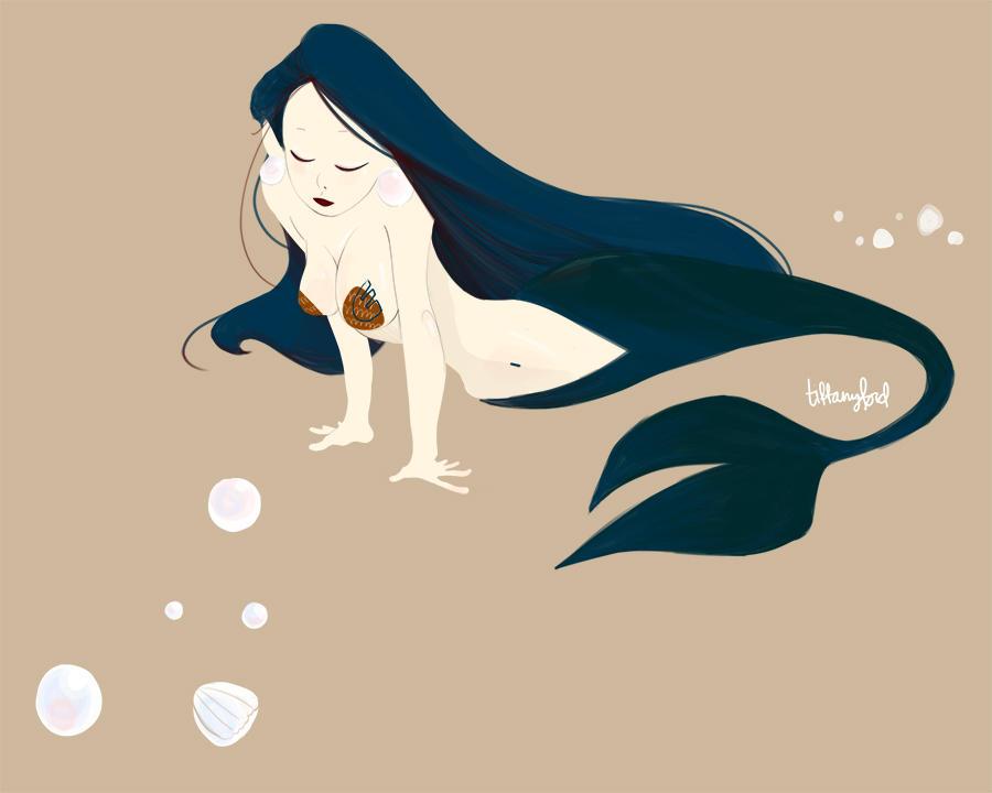 mermaid by atofu