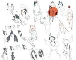 sketches by atofu