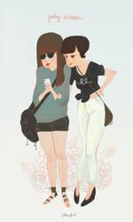 july sixteenth : Michelle and Yuni by atofu
