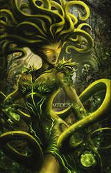 Medusa Vertical by Pradyrk