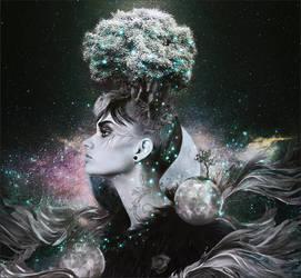 Celestial Head by Pradyrk