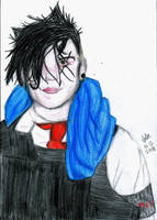 Frank Iero by It-is-Madness