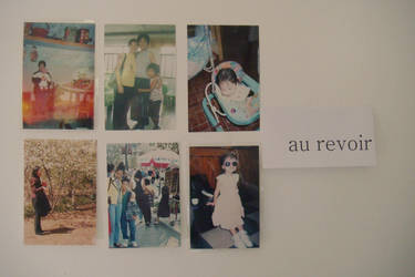 au revoir by post-itpapercut