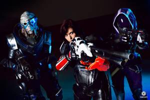Mass Effect Commando by kaihansen3004