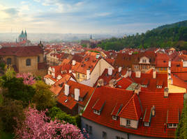 Waking up Prague by mannromann