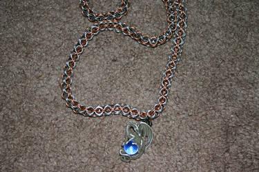 inverted Box necklace by DracoLumina