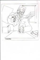 Amschool joe clogger color by ThePhantomComics
