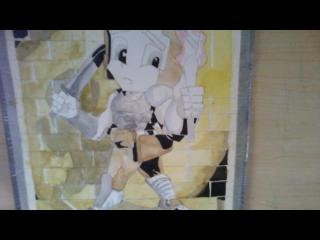 Dungeon crawler  rpg watercolor by ThePhantomComics