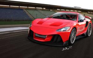 Maserati GranTurismo RS by Maettoe