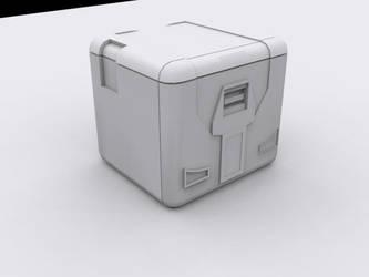 Sci-Fi Box/Crate by leonlfc