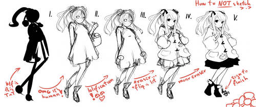 How to sketch like a... by hyunit