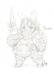 Sir Bunnington, the Worgslayer by hyunit