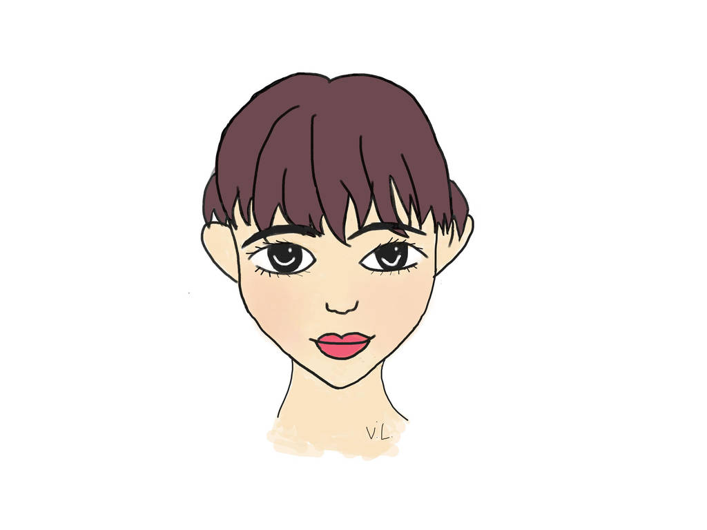 Profile of Girl by meowmeowkitty123