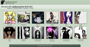 2011 Art Summary by godlessmachine
