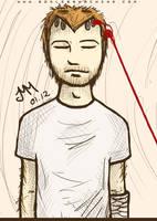red wire: xander by godlessmachine
