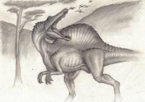 Spinosaurus Maroccanus by SpinoJP