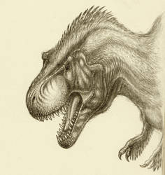 Feathered Rex by SpinoJP