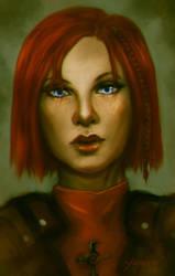 Leliana portrait by Yumexor