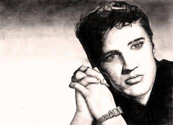 Elvis Presley by Nicksman24