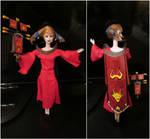 Zamorak Cult Barbie by crimpsonlilly