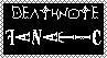 .:Death Note Stamp:. by Sammybzz