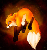 Fire Fox by LeeohFox