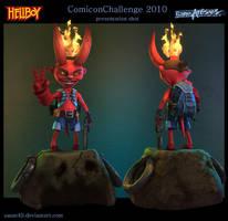 Hellboy presentation shot by sanat49