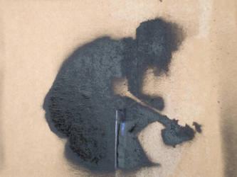 Mike Shinoda stencil result by 1INXILE