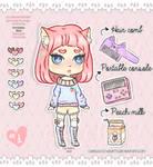 Adopt n1 Peach Girl (OPEN) by Carolayco-Adopts