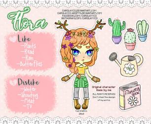 Flora (OC) by Carolayco-Adopts