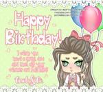 Happy birthday! by Carolayco-Adopts