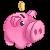 F2U Piggy points F2U by Carolayco-Adopts
