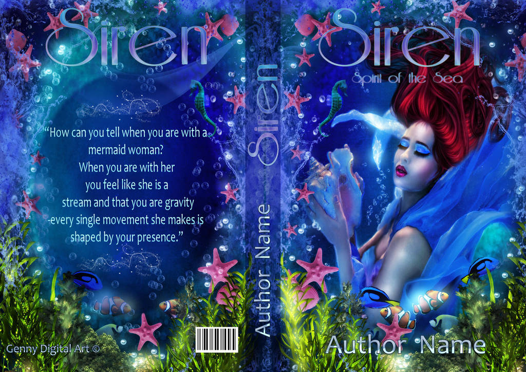 Premade Cover Siren - Spirit of the Sea by Sinphie