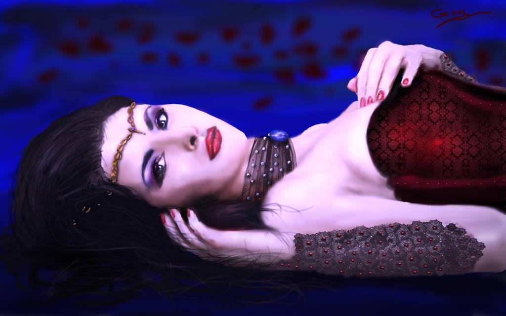 Luna Distesa by Sinphie