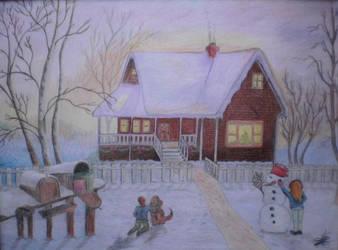 Winter Magic by DanaMitzy