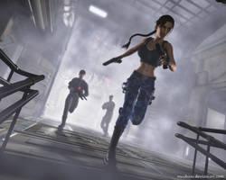 Lara Croft69 by Nicobass