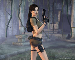 Lara Croft 74 by Nicobass