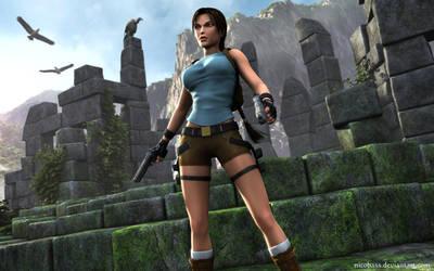 Lara Croft 81 by Nicobass