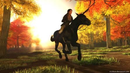 Lara Croft 82 by Nicobass