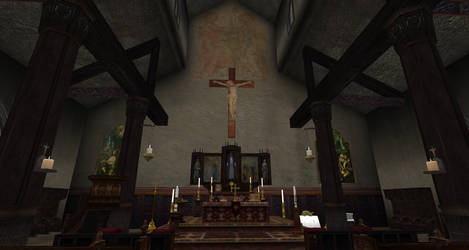 Chapel I  saw while schlepping around by OldDuane