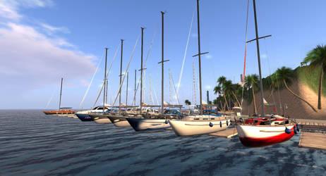 2nd life marina by OldDuane